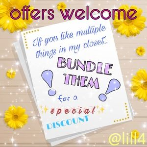 ✨OFFERS✨WELCOME✨